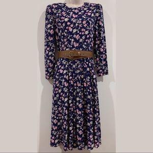 Vintage Jessica Howard Petite Cottagecore Dress